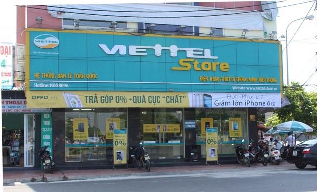 Cửa Hàng, Trung tâm Giao dịch Viettel Tại Đồng Nai