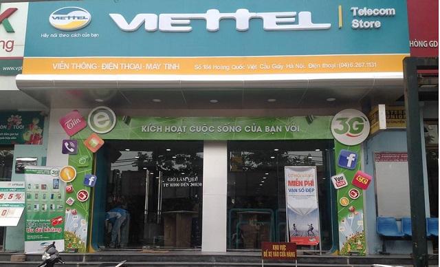 Các cửa hàng Viettel, phòng giao dịch Viettel tại TP Hồ ...
